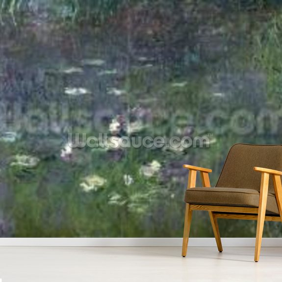 Waterlilies: Morning, 1914-18 (right section) wall mural room setting