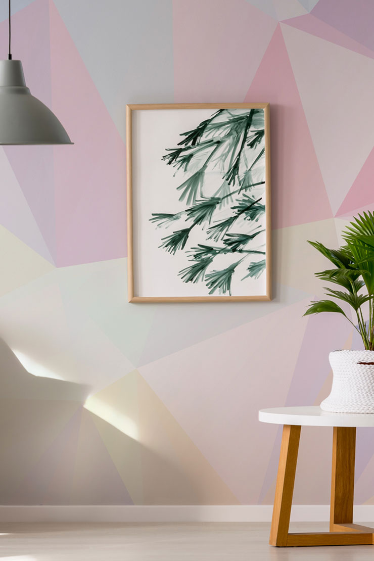 geometric-wallpaper-in-home