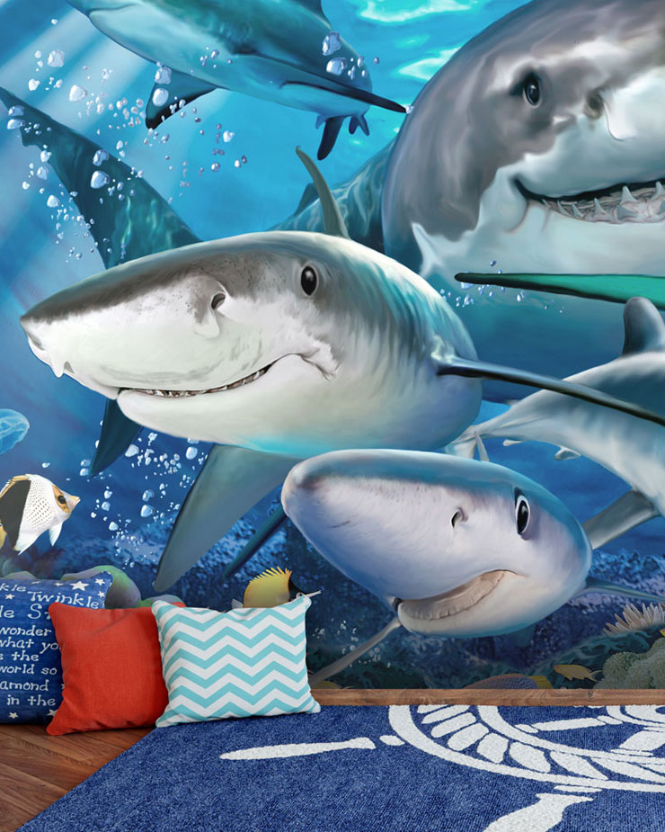sealife-mural-in-boys-bedroom