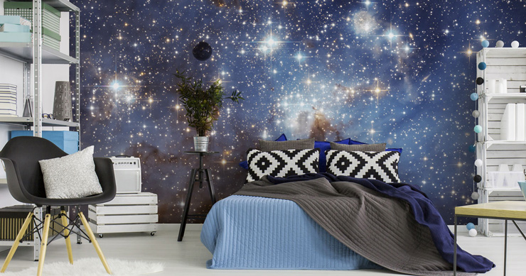 galaxy-wallpaper-in-bedroom