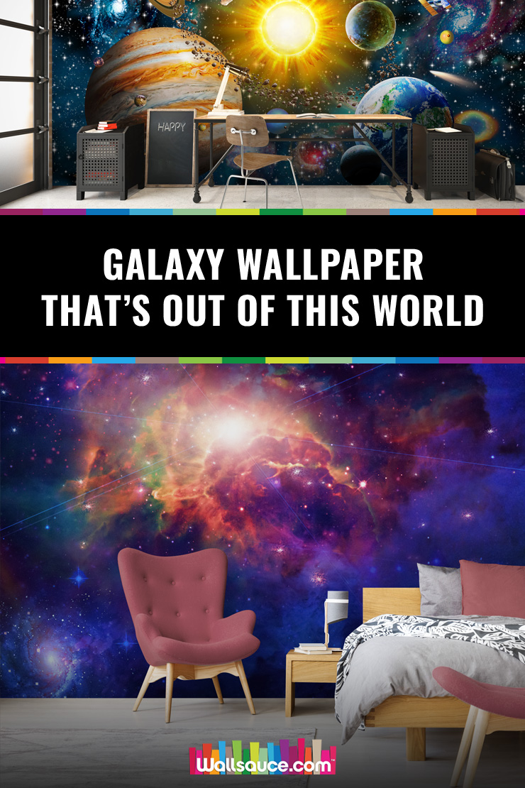 Galaxy wallpaper that's out of this world. You won't quite believe it