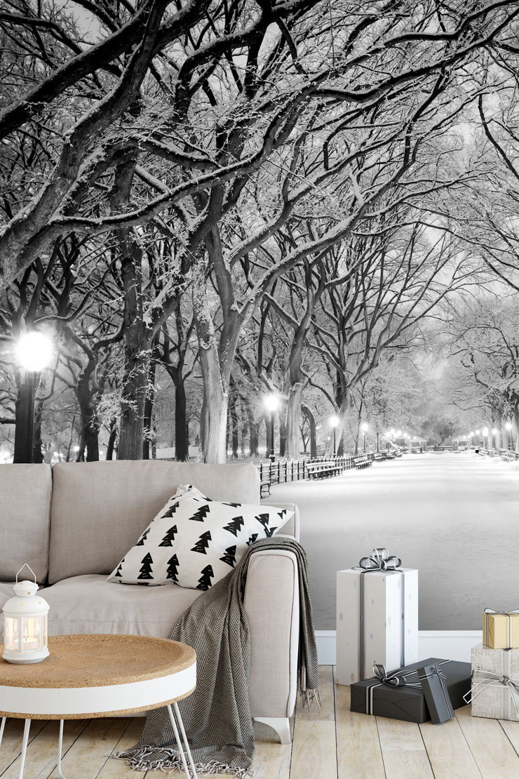 Seasonal Decorating With Winter Wallpaper Wallsauce Us