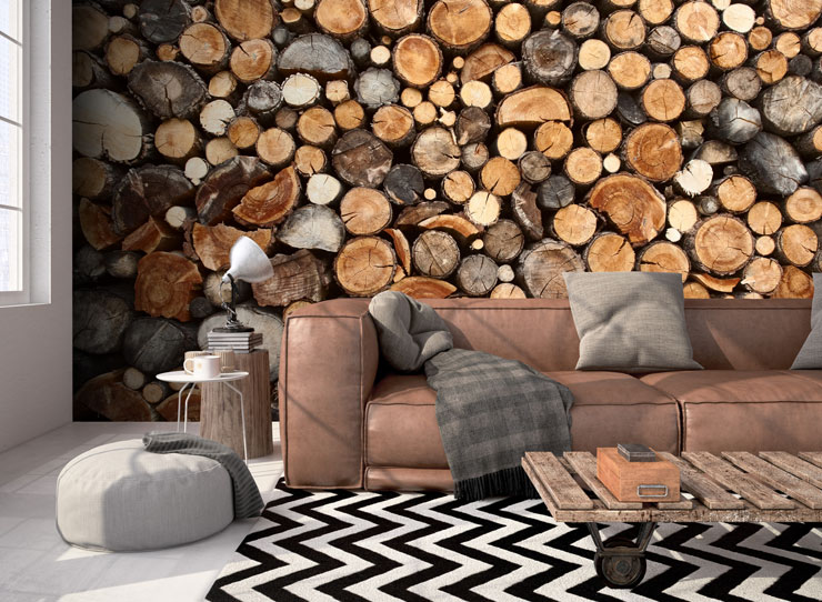 wood-log-mural-in-cosy-living-room
