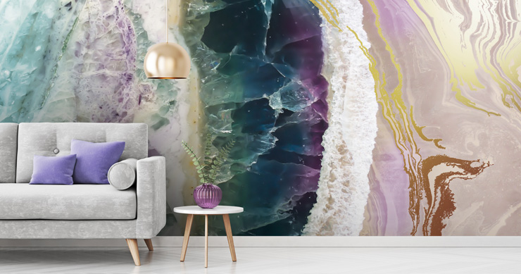 purple-amethyst-wallpaper-in-lounge