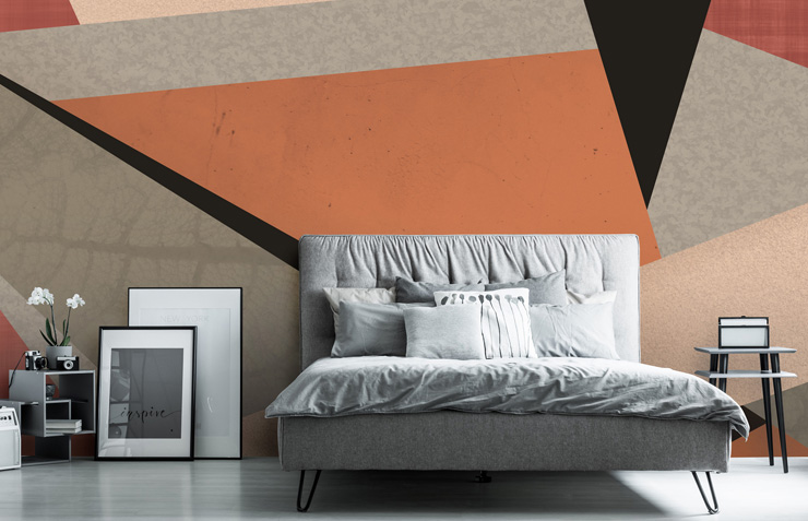 bold-geometric-wallpaper-in-bedroom