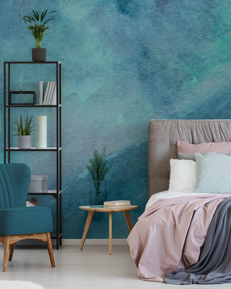 watercolour-mural-in-bedroom