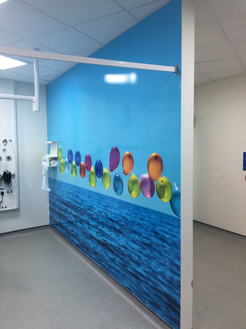 Northumbria NHS Trust Mural