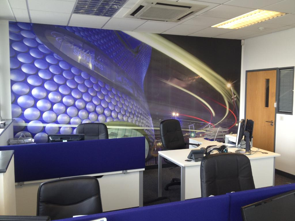 office wall murals amp office interior decor wallsauce funky wall murals for the office