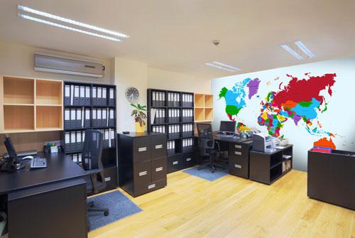wall murals office. modren murals office wall murals interior decor wallsauce usa  throughout a