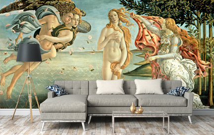 Botticelli, Sandro Wallpaper Murals