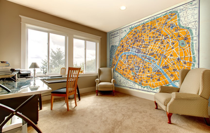 City Map Wallpaper Wallpaper Murals