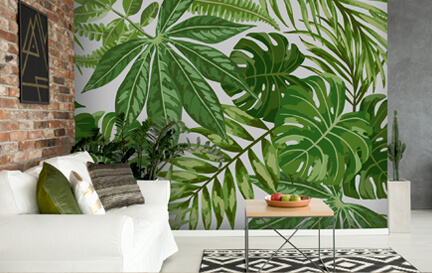 Green Wallpaper Wallpaper Murals