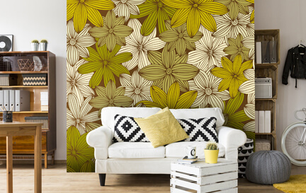 Yellow Wallpaper Wallpaper Murals