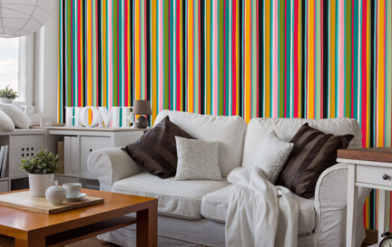 Striped Wallpaper Wallpaper Murals