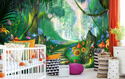 Children's Artist Wallpaper Murals