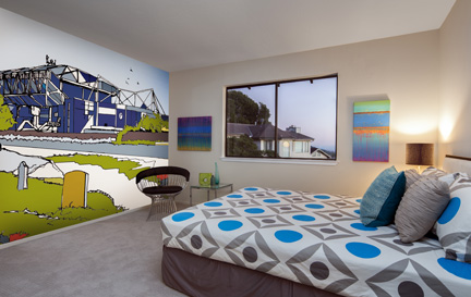Stadiums by Jamie Edwards Wallpaper Murals