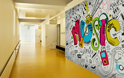 Music Wallpaper Murals