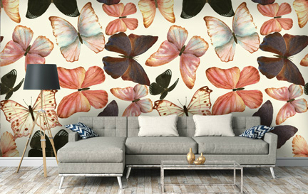 Butterfly Wallpaper Wallpaper Murals