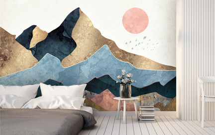 SpaceFrog Designs Wallpaper Murals