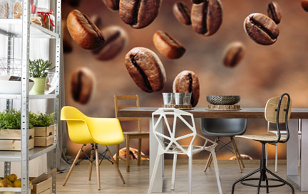 Coffee Bean Wallpaper Wallpaper Murals