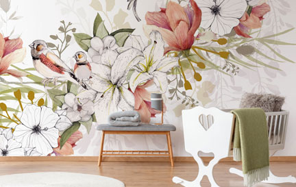 Kelly Kratzing Wallpaper Murals