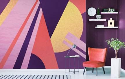 Twisted Pixels Illustration Wallpaper Murals