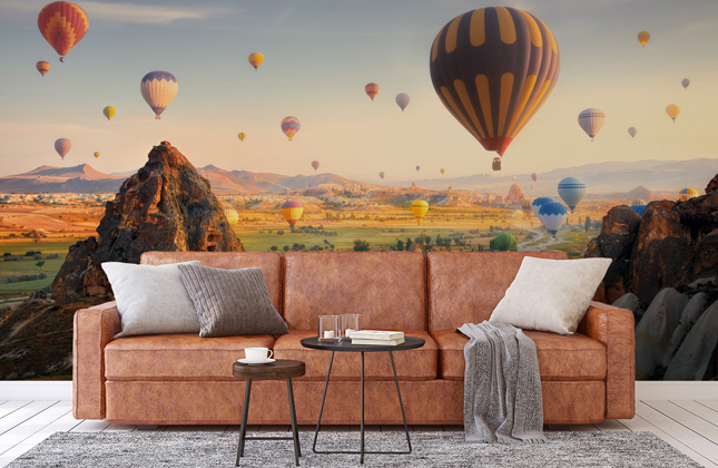 Hot Air Balloon Wallpaper Wallpaper Murals