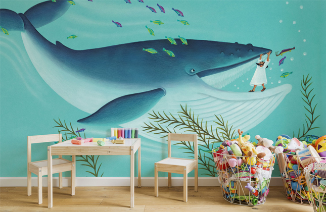 Amanda Hall Wallpaper Murals