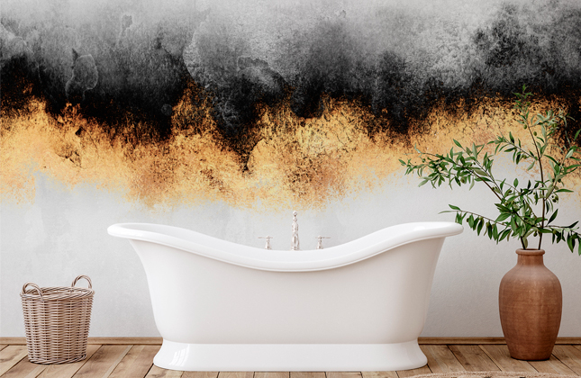 Bathroom Wallpaper Wallpaper Murals