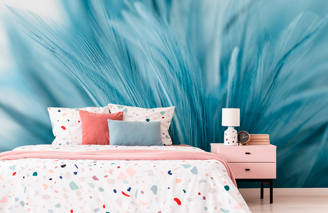Blue Wallpaper Wallpaper Murals