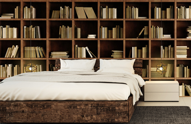Bookcase Wallpaper Wallpaper Murals