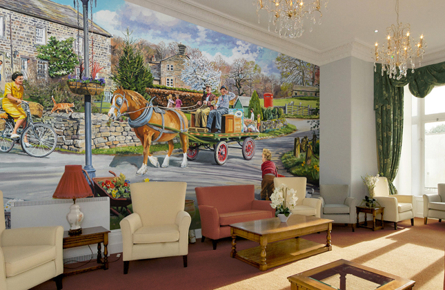 Care Home Wallpaper & Wall Murals Wallpaper Murals