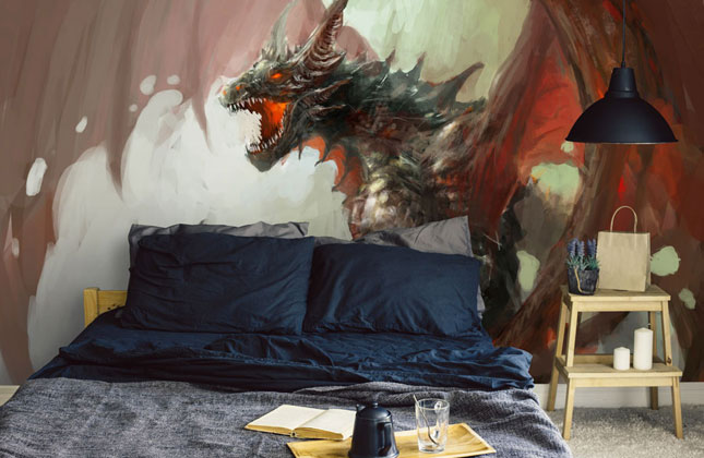 Dragon Wallpaper Wallpaper Murals
