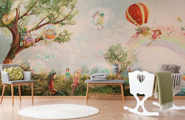 Fairy Wallpaper Wallpaper Murals