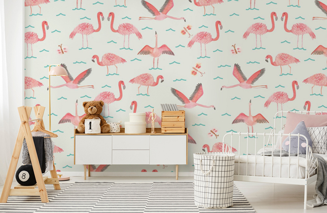 Flamingo Wallpaper Wallpaper Murals