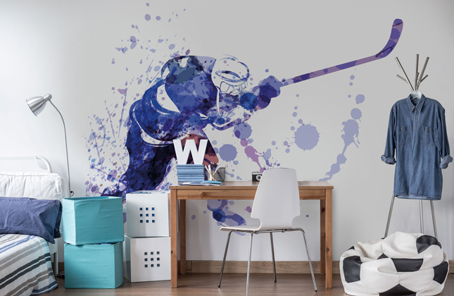 Ice Hockey Wallpaper Wallpaper Murals