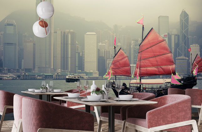 Hong Kong Wallpaper Wallpaper Murals