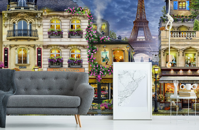 HR Vintage Wallpaper Murals
