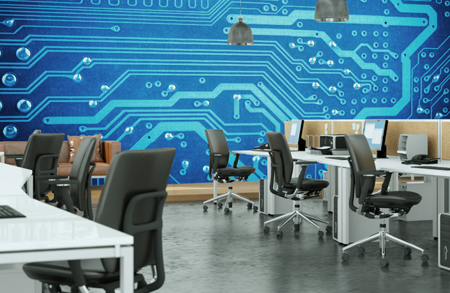 ICT and Computing Wallpaper Murals