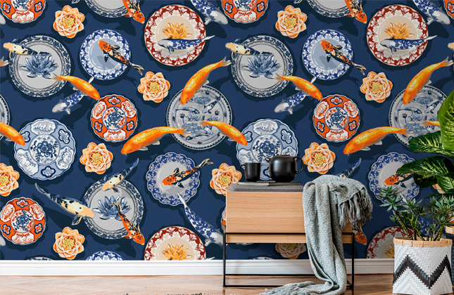 Julia Fonnereau Wallpaper Murals