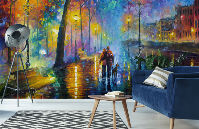 Leonid Afremov Wallpaper Murals