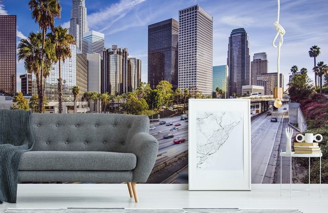 Los Angeles Wallpaper Wallpaper Murals