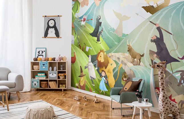 Mark Bird Wallpaper Murals