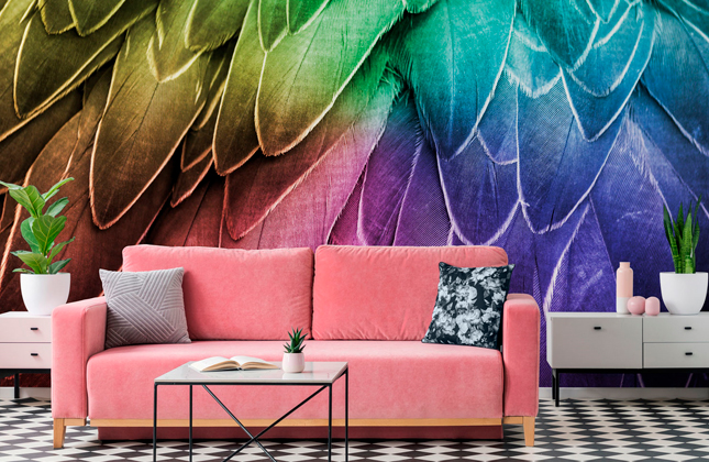 Multicoloured Wallpaper Murals Wallpaper Murals