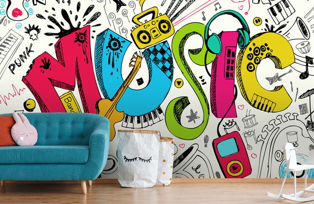 Music Wallpaper Murals Wallpaper Murals