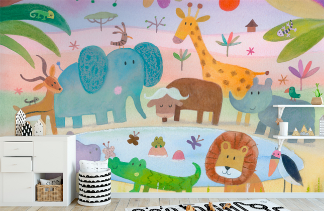 Nursery Wallpaper Wallpaper Murals