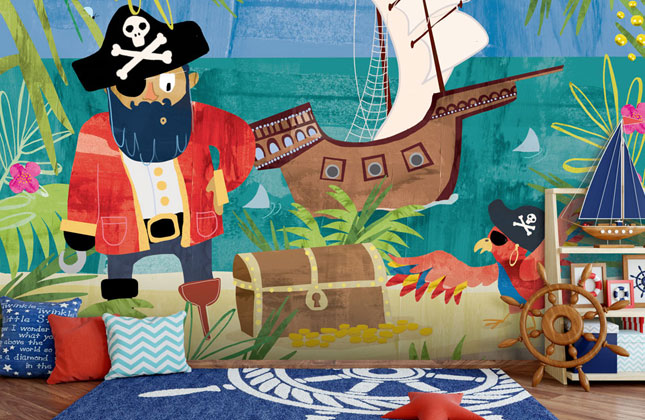 Pirates Wallpaper Wallpaper Murals