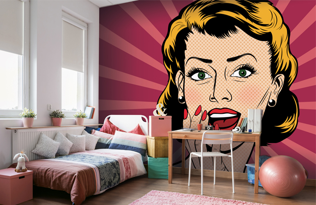 Pop Art Wallpaper Wallpaper Murals