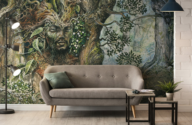 Severine Pineaux Wallpaper Murals