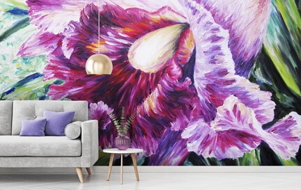 Orchids Wallpaper Wallpaper Murals